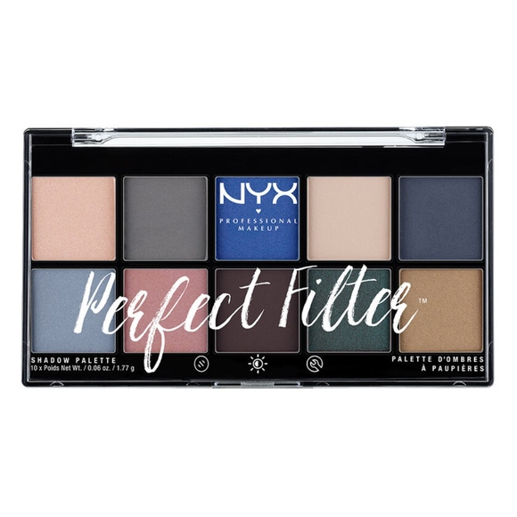 NYX Other - NYX PERFECT FILTER SHADOW PALETTE - Marine Layer